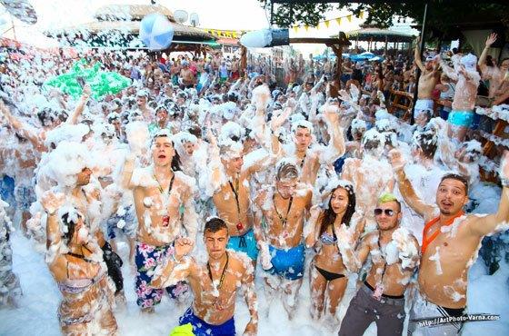 Open Air Foam Party